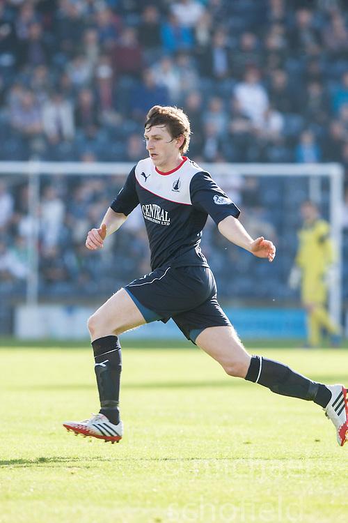 Falkirk's Blair Alston.<br /> Raith Rovers 1 v 1 Falkirk, Scottish Championship 28/9/2013.<br /> &copy;Michael Schofield.