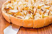 Apple Tart Close-up