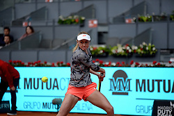 May 8, 2019 - Madrid, Spain - Aliaksandra Sasnovich (BLR)in her match against Naomi Osaka (JPN) during day five of the Mutua Madrid Open at La Caja Magica in Madrid on 8th May, 2019. (Credit Image: © Juan Carlos Lucas/NurPhoto via ZUMA Press)