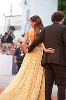 Dani De La Torre and Goya Toledo at the gala screening for the film Everest and opening ceremony at the 72nd Venice Film Festival, Wednesday September 2nd 2015, Venice Lido, Italy.