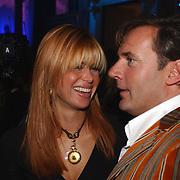 Uitreiking Beau Monde Awards, Estelle Cruyff en Gerard Joling