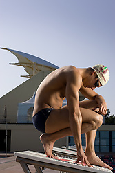 Stanford Alumni swimmer Ben Wildman-Tobriner has qualified for the 2008 Summer Olympics in Beijing, China.