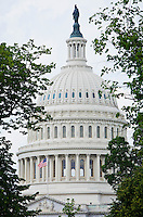 The United States Capitol building, Washington DC, USA.