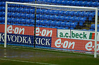Photo: Gareth Davies.<br />Reading v Burnley FC. The FA Cup. 06/01/2007.<br />A waterlogged goalmouth means the games is postponed.