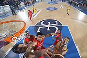 DESCRIZIONE : Porto San Giorgio Lega A 2010-11 Fabi Montegranaro Armani Jeans Milano<br /> GIOCATORE : Dejan Ivanov Ibrahim Jaaber<br /> SQUADRA : Fabi Montegranaro Armani Jeans Milano <br /> EVENTO : Campionato Lega A 2010-2011<br /> GARA : Fabi Montegranaro Armani Jeans Milano<br /> DATA : 28/11/2010<br /> CATEGORIA : rimbalzo stoppata special<br /> SPORT : Pallacanestro<br /> AUTORE : Agenzia Ciamillo-Castoria/C.De Massis<br /> Galleria : Lega Basket A 2010-2011<br /> Fotonotizia : Porto San Giorgio Lega A 2010-11 Fabi Montegranaro Armani Jeans Milano<br /> Predefinita :