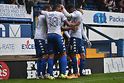 Bury Forward, James Vaughan (12) scores 1 -0 during the EFL Sky Bet League 1 match between Bury and Port Vale at the JD Stadium, Bury, England on 3 September 2016. Photo by Mark Pollitt.