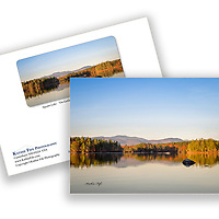 Special Edition Squam Lake On Golden Pond greeting card. <br />