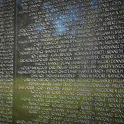 Vietnam Veterans memorial in the National Mall, Washington DC