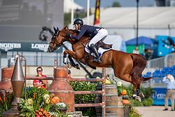WILLIS Rowan (AUS), Blue Movie<br /> Tryon - FEI World Equestrian Games™ 2018<br /> FEI World Individual Jumping Championship<br /> Third cometition - Round A<br /> 3. Qualifikation Einzelentscheidung 1. Runde<br /> 23. September 2018<br /> © www.sportfotos-lafrentz.de/Stefan Lafrentz