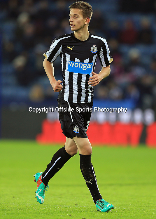 3 January 2015 - The FA Cup 3rd Round - Leicester City v Newcastle United - Lubomir Satka of Newcastle United - Photo: Marc Atkins / Offside.