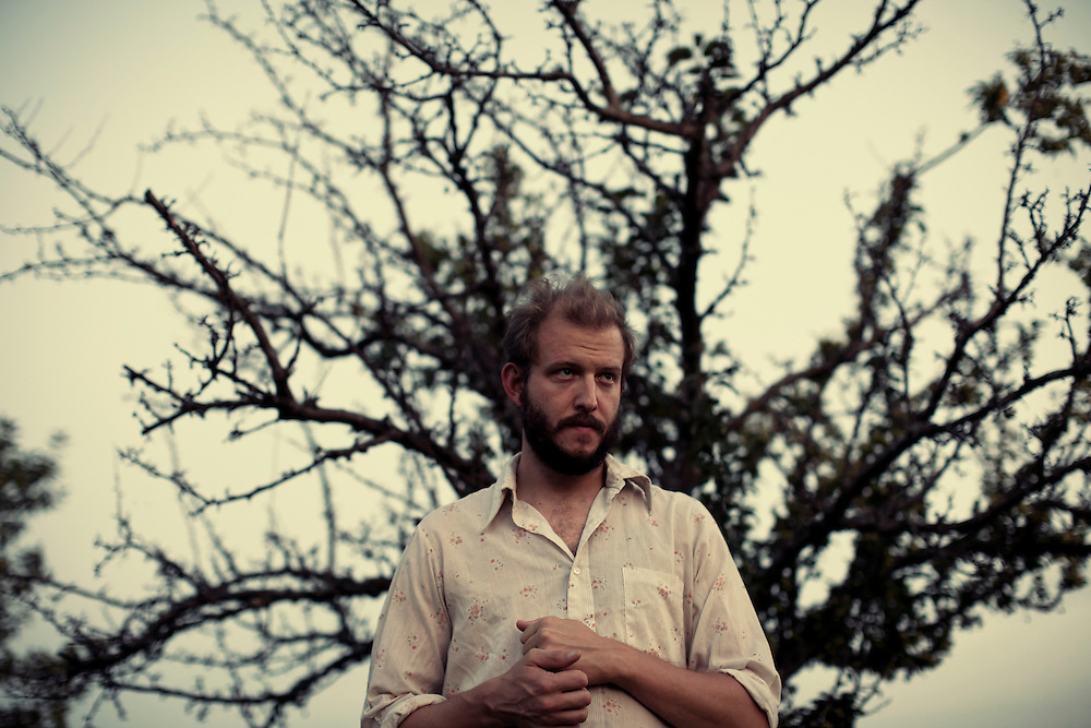 Bon Iver, Justin Vernon at April Base in Wisconsin.