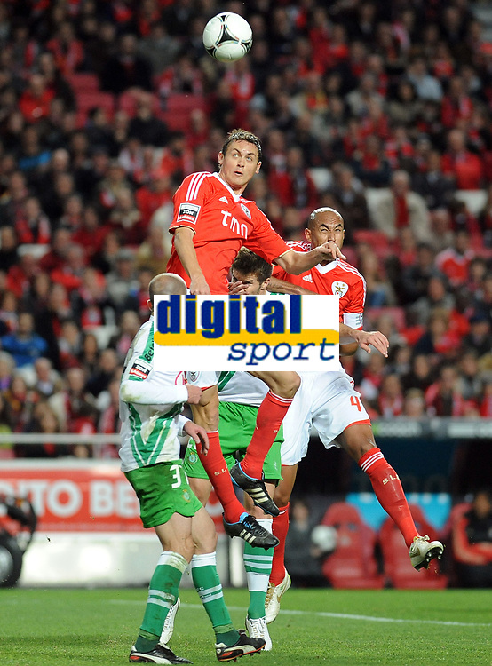 20120114: LISBON, PORTUGAL – Liga Zon Sagres 2011/2012: SL Benfica vs V. Setubal. In picture: Nemanja Matić (Benfica).<br />PHOTO: Alvaro Isidoro/CITYFILES