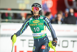 Emelie Wikstroem (SWE) during second run at the Ladies' Slalom at 56th Golden Fox event at Audi FIS Ski World Cup 2019/20, on February 16, 2020 in Podkoren, Kranjska Gora, Slovenia. Photo by Matic Ritonja / Sportida
