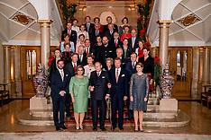 London Diplomatic reception at Buckingham Palace - 8 Dec 2016