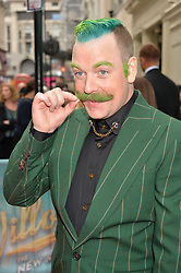 Rufus Hound arriving at The opening night of Wind in The Willows at the London Palladium, Argyll Street, London England. 29 June 2017.<br /> Photo by Dominic O'Neill/SilverHub 0203 174 1069 sales@silverhubmedia.com