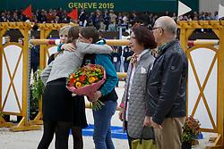 Kathrin Somogyi, owner Plot Blue <br /> Farewell Plot Blue<br /> Genève 2015<br /> © Hippo Foto - Dirk Caremans<br /> 11/12/15