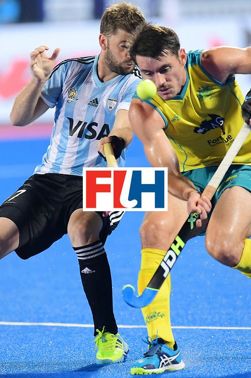Odisha Men's Hockey World League Final Bhubaneswar 2017<br /> Match id:22<br /> Argentina v Australia Final<br /> Foto: Juan Lopez (Arg) <br /> COPYRIGHT WORLDSPORTPICS FRANK UIJLENBROEK