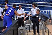 Marco Belinelli, Giovanni Petrucci<br /> Nazionale Italiana Maschile Senior<br /> Torneo dell Acropolis<br /> Italia Serbia Italy Serbia<br /> FIP 2017<br /> Atene, 23/08/2017<br /> Foto M.Ceretti / Ciamillo - Castoria