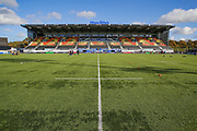 General view inside the Allianz Park Stadium before the Premiership Rugby Cup match between Saracens and Worcester Warriors at Allianz Park, Hendon, United Kingdom on 11 November 2018.