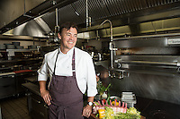 Chef Juan Bochenski heads up the restaurant at the Fairmont Empress Hotel in Victoria, BC