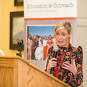 26.01.17<br /> Pictured at the launch of the Communities of Culture Report in The Hunt Museum was Maria Cagney, Hunt Museum. Picture: Alan Place