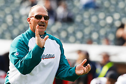 November 28, 2010; Oakland, CA, USA;  Miami Dolphins head coach Tony Sparano watches his team warm up before the game against the Oakland Raiders at Oakland-Alameda County Coliseum.