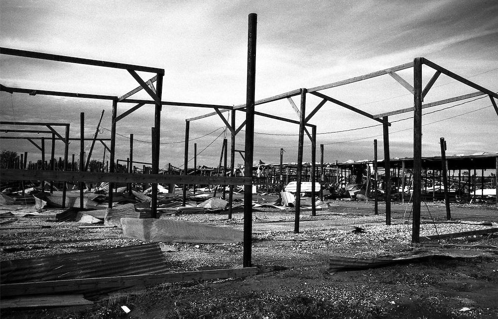 Ruins of Marina, Hopedale, LA, 1/06