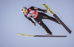 12.01.2019, Stadio del Salto, Predazzo, ITA, FIS Weltcup Skisprung, Val di Fiemme, Herren, 1. Wertungsdurchgang, im Bild Kamil Stoch (POL) // Kamil Stoch of Poland during his 1st Competition Jump for the Four Hills Tournament of FIS Ski Jumping World Cup at the Stadio del Salto in Predazzo, Italy on 2019/01/12. EXPA Pictures © 2019, PhotoCredit: EXPA/ JFK