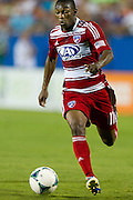 FRISCO, TX - AUGUST 11:  Fabian Castillo #11 of FC Dallas controls the ball against the Los Angeles Galaxy on August 11, 2013 at FC Dallas Stadium in Frisco, Texas.  (Photo by Cooper Neill/Getty Images) *** Local Caption *** Fabian Castillo