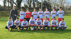 Colaiste Chiarain Athlone Connacht U19 FAI Schools Winners 2018<br /> Pic Conor McKeown
