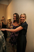 Louise Roe and The curator: Di Poole, The Living Is Easy - private view . Flowers East, 82 Kingsland Road, London, E2, Mixed photography exhibition. 10 August 2006. ONE TIME USE ONLY - DO NOT ARCHIVE  © Copyright Photograph by Dafydd Jones 66 Stockwell Park Rd. London SW9 0DA Tel 020 7733 0108 www.dafjones.com