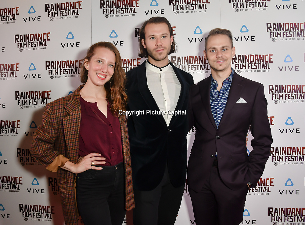 Nominees attends the Raindance Film Festival - VR Awards, London, UK. 6 October 2018.