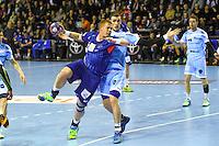Matej Gaber - 05.03.2015 - Montpellier / Cesson Rennes - 17eme journee de Division 1<br />Photo : Andre Delon / Icon Sport