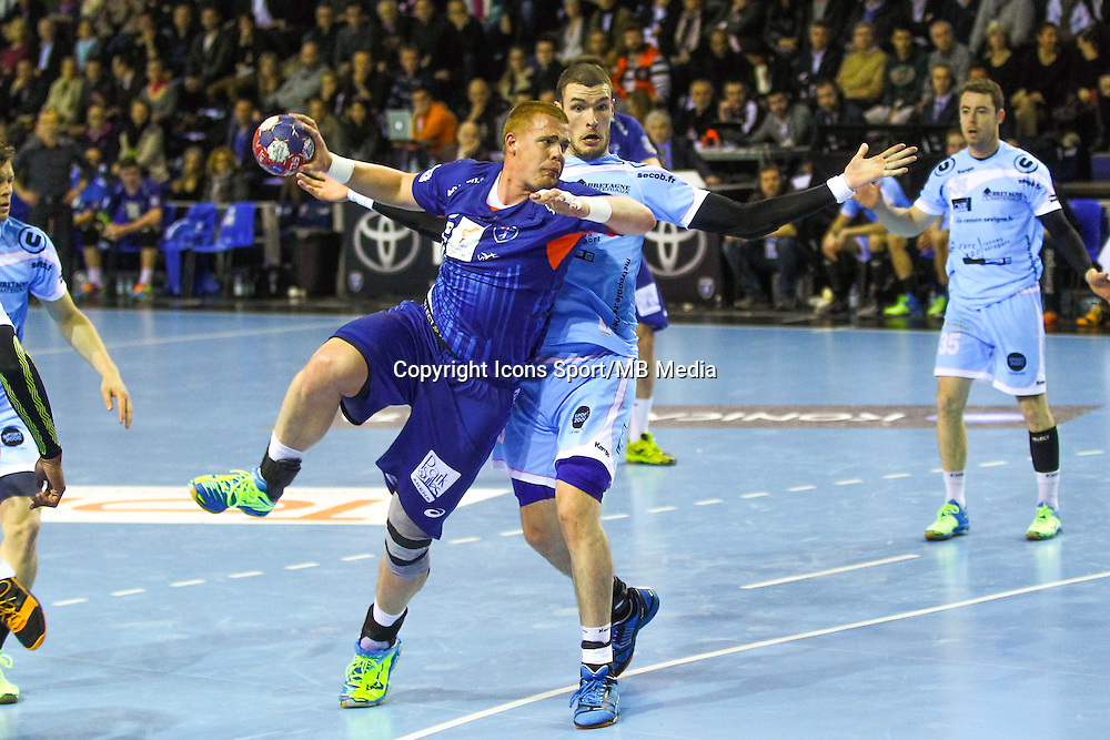 Matej Gaber - 05.03.2015 - Montpellier / Cesson Rennes - 17eme journee de Division 1<br />