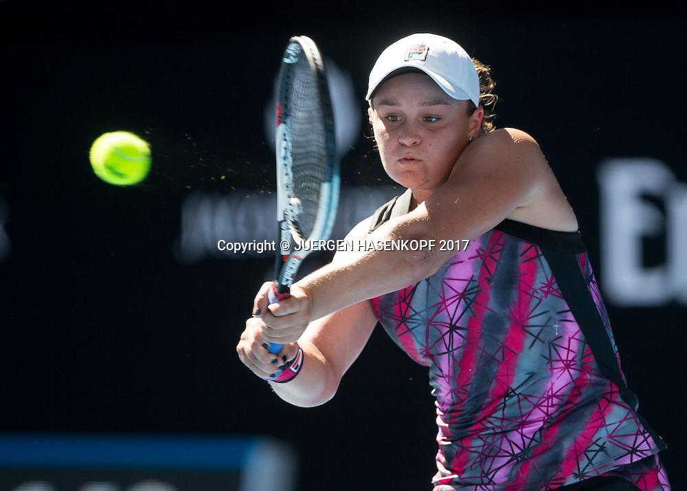 ASHLEIGH BARTY (AUS)<br /> <br /> Australian Open 2017 -  Melbourne  Park - Melbourne - Victoria - Australia  - 16/01/2017.