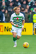 Mortiz Bauer (#13) of Celtic FC strides forward during the Ladbrokes Scottish Premiership match between Livingston FC and Celtic FC at The Tony Macaroni Arena, Livingston, Scotland on 6 October 2019.