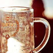 A well used beer mug in Damaraland, Namib Campground Bar.