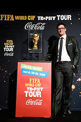 Sasa Jerkovic at VIP reception of FIFA World Cup Trophy Tour by Coca-Cola, on March 29, 2010, in BTC City, Ljubljana, Slovenia.  (Photo by Vid Ponikvar / Sportida)