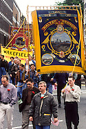 Maltby Branch banner, Miners Gala Wakefield