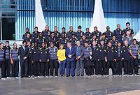 20100526: BRASILIA, BRAZIL - Brazilian President Luiz Inacio Lula da Silva welcomes Brazil National Football Team at Alvorada Palace. In picture: Lula da Silva and his wife Marisa Leticia with coach Dunga and players. PHOTO: CITYFILES