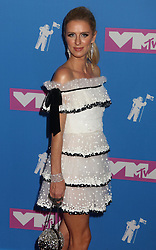 August 20, 2018 - New York City, New York, U.S. - NICKY HILTON attends the arrivals for the 2018 MTV 'VMAS' held at Radio City Music Hall. (Credit Image: © Nancy Kaszerman via ZUMA Wire)