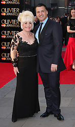 BARBARA WINDSOR attends The Laurence Olivier Awards at the Royal Opera House, London, United Kingdom. Sunday, 13th April 2014. Picture by i-Images