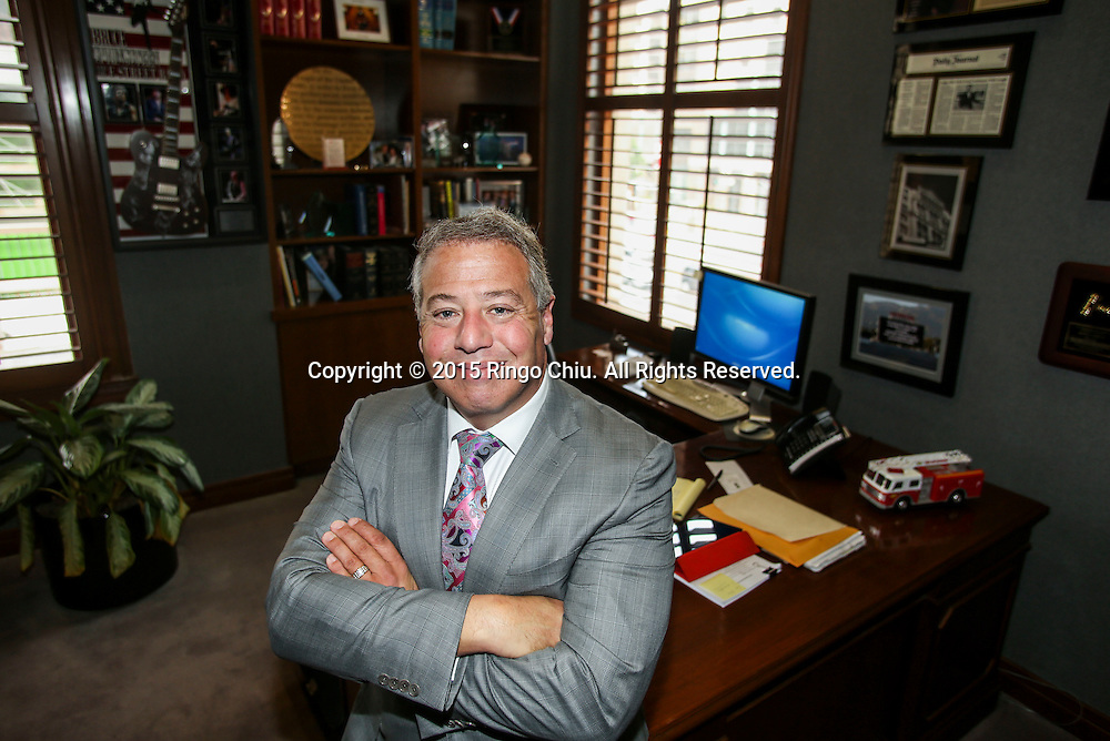 Attorney Brian Kabateck of  Kabateck Brown Kellner, at his office in downtown L.A.<br /> (Photo by Ringo Chiu/PHOTOFORMULA.com)<br /> <br /> Usage Notes: This content is intended for editorial use only. For other uses, additional clearances may be required.