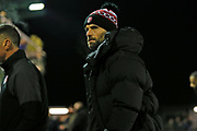 Paul Warne during the The FA Cup match between Solihull Moors and Rotherham United at the Automated Technology Group Stadium, Solihull, United Kingdom on 2 December 2019.