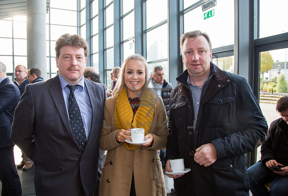 21/08/2015             <br /> Launch of LIT Department of Electrical and Electronic Engineering, Apprenticeship in Industrial Electrical Engineering. <br /> <br /> Attending the launch were, John Cosgrove, LIT, Jennifer Ahern, Kirby Group and Dave McNamara, Kirby Group. Picture: Alan Place