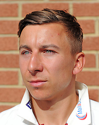 Somerset's Michael Bates - Photo mandatory by-line: Harry Trump/JMP - Mobile: 07966 386802 - 16/06/15 - SPORT - CRICKET - LVCC County Championship - Division One - Day Three - Somerset v Nottinghamshire - The County Ground, Taunton, England.