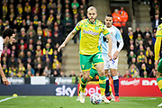 Norwich City forward Teemu Pukki (22)   during the EFL Sky Bet Championship match between Norwich City and Blackburn Rovers at Carrow Road, Norwich, England on 27 April 2019.