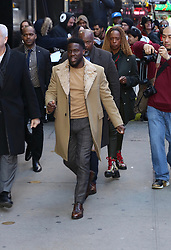 Kevin Hart is seen leaving Good Morning America. . 09 Jan 2019 Pictured: Kevin Hart . Photo credit: Joe Russo / MEGA TheMegaAgency.com +1 888 505 6342