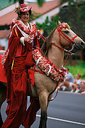 Christmas parade, Honolulu, Hawaii, (editorial use only)<br />