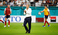 Rugby Union - 2019 Rugby World Cup - Pool C: England vs. USA<br /> <br /> Eddie Jones head coach of England  at the Kobe City Misaki Park Stadium.<br /> <br /> COLORSPORT/LYNNE CAMERON